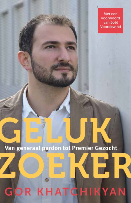 Gelukzoeker boek Gor Khatchikyan